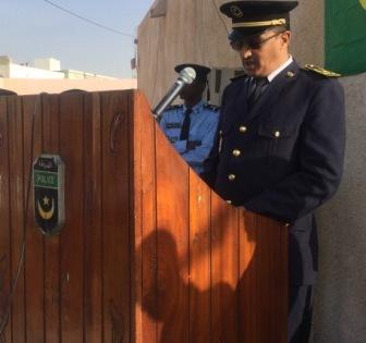 المدير الجهوي لأمن ولاية داخلت انواذيبو السفير ولد احمد لطلبه