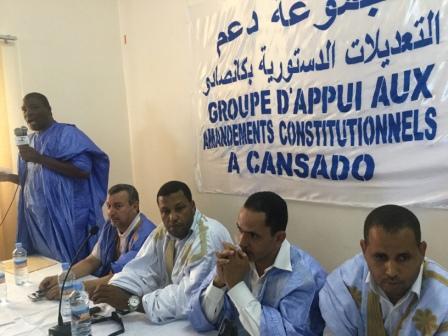 أعضاء المبادرة على التوالي السعد ولد معيني ولد الشيخ سعد بوه,وولد العربي, الإطارسيدي احمد بوبه ,وولد عبد الودود