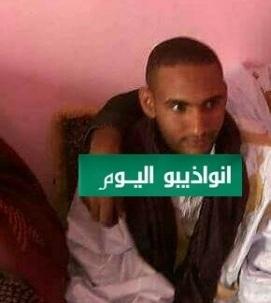 الجاني محمد سالم ولد احميده  يوم زفافه بالضحية افاتيس بنت معط