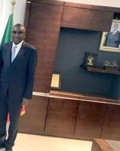 وزير الخارجية السيغالي