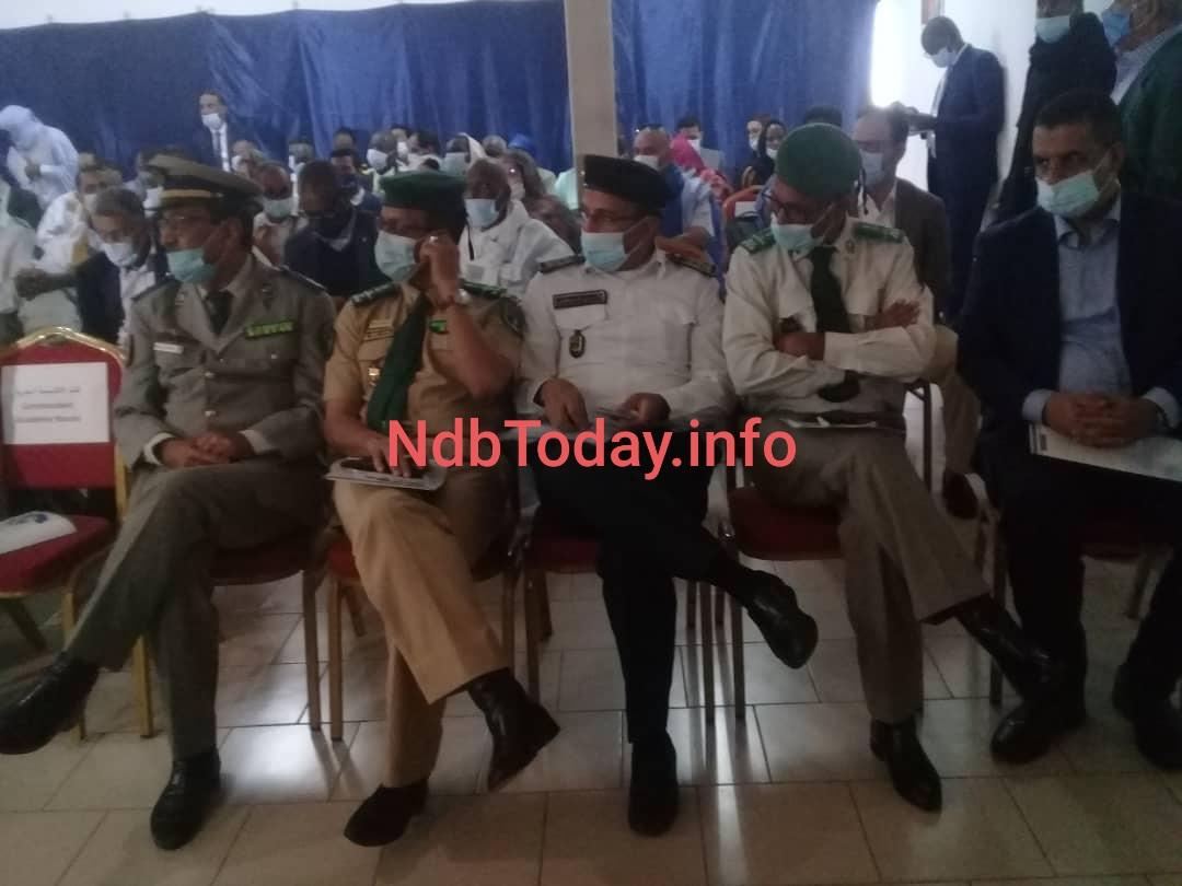 قادة الأجهزة الأمنية و العسكرية في انواذيبو..