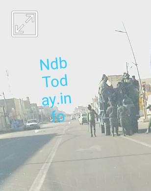 قوات الأمن ترابط تعتقل عدد من الأجانب