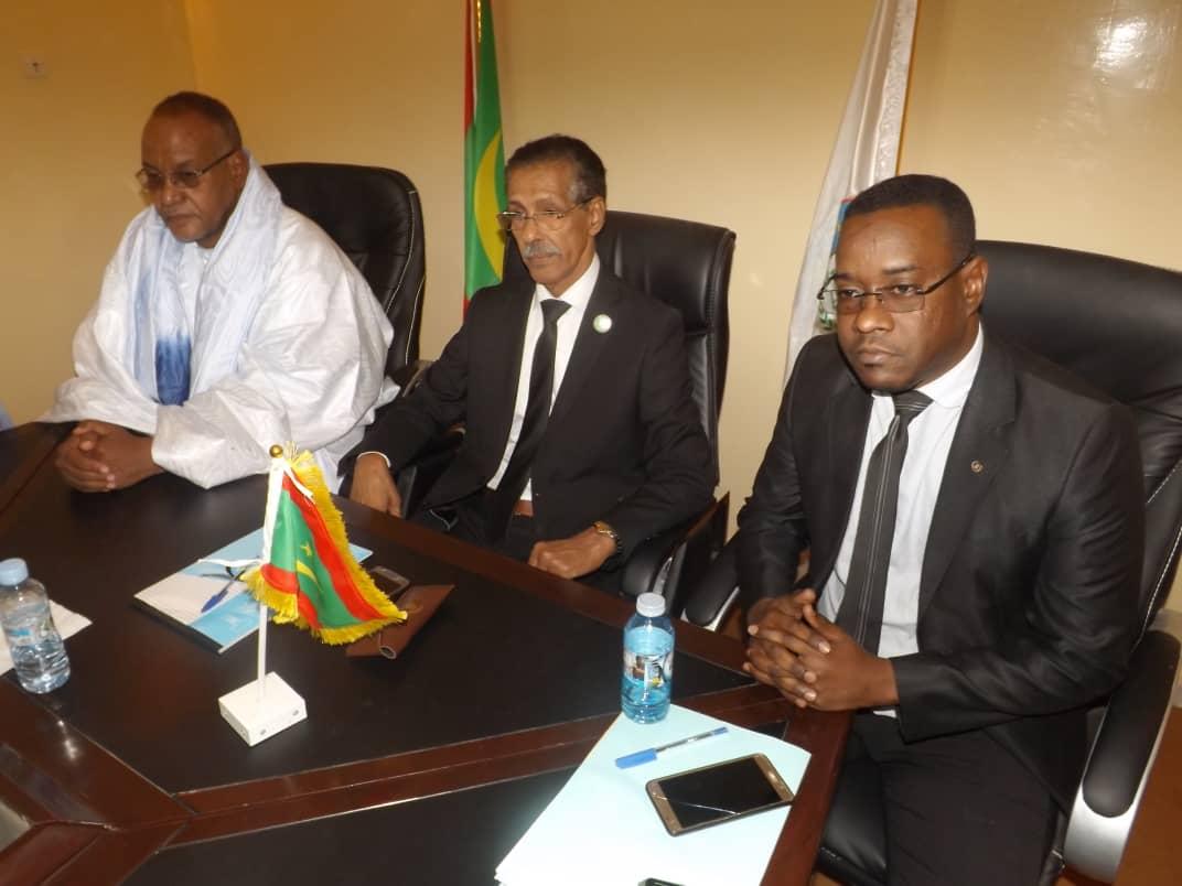 الفريق البرلماني خلال زيارته لمباني الجهة