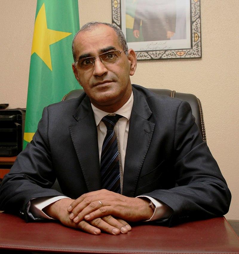 وزير الصيد والإقتصاد البحري الوطني الناني ولد اشروقة