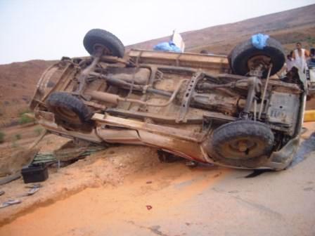 حادث سير مروع يودي بحياة