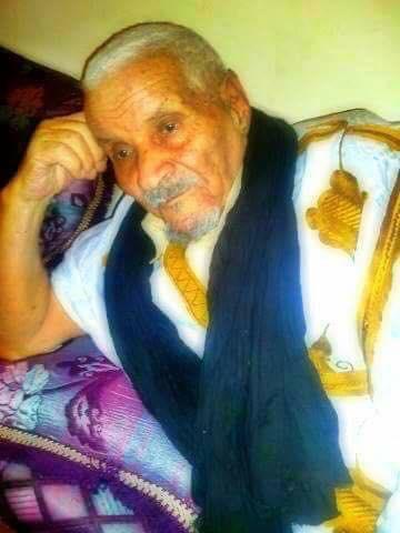 المرحوم الشيخ أحمد ولد لخديم