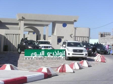 رئيس الجمهورية يغادر قصر الضيافة متوجها الى مطار انواذيبو