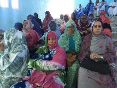 جانب من الحضور النسوي للاسرة التربوية والتعليمية