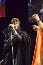 شقيقة المغنية المغربية البتول المرواني..